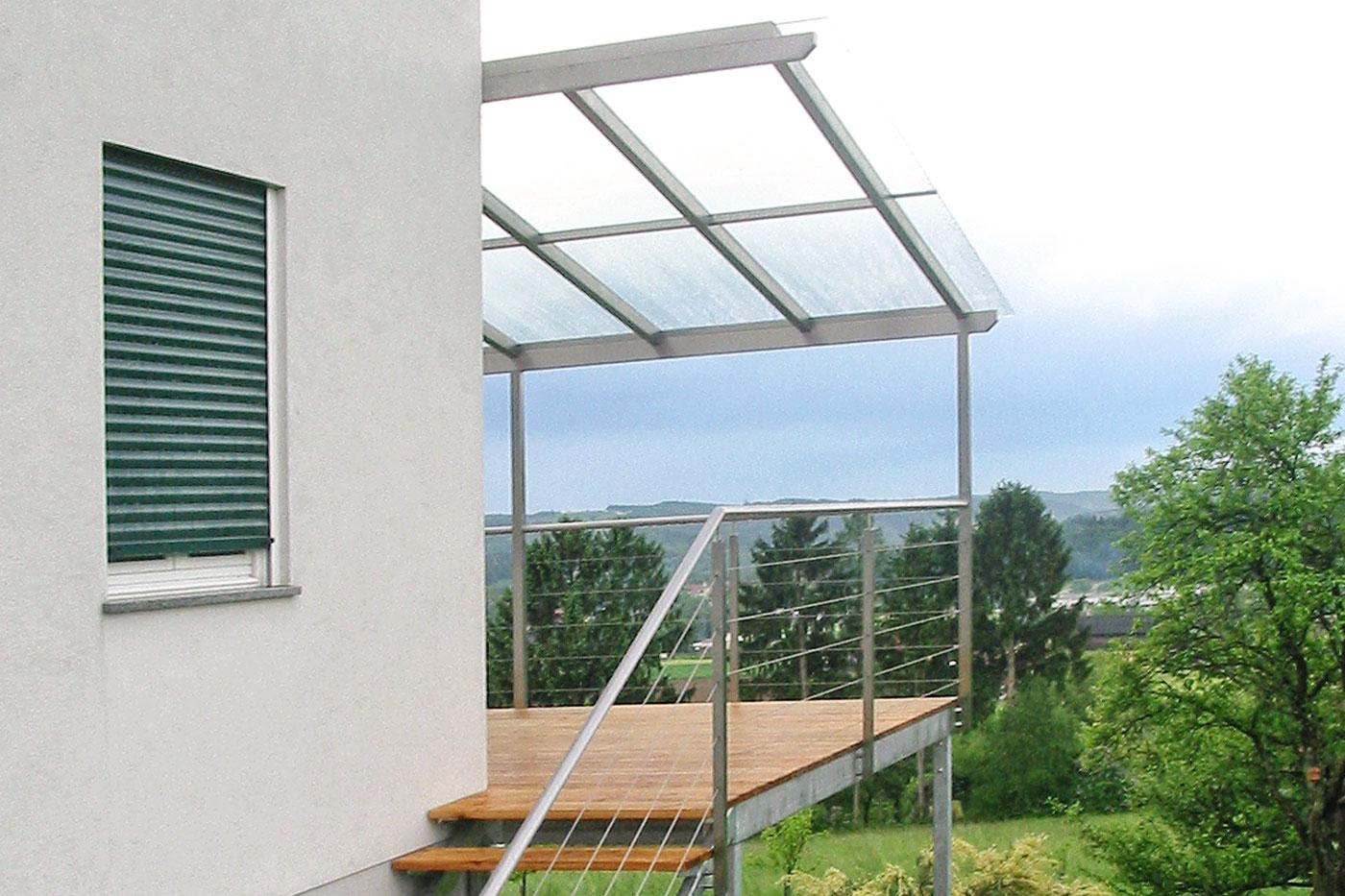 berdachungen carports vord cher terrassen berdachungen hermax. Black Bedroom Furniture Sets. Home Design Ideas